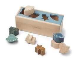 Holzsteckpuzzle Sortier-, Stapel- & Steckspielzeug Geschenksets für Babys Liewood