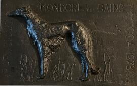Skulpturen Taque fondue et datée en 1973
