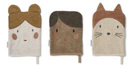 Accessoires de bain pour bébés Serviettes de bain et gants de toilette Coffrets cadeaux pour bébés Liewood