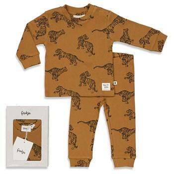 Pyjama 2 pièces TIGRE FEETJE en coton bio du 86cm au 128cm