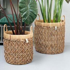 Pots décoratifs Paniers Pots et cache-pots Riviera Maison