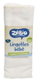 Lingettes pour bébés Zébio