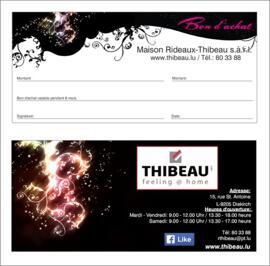 Geschenkgutscheine Maison Thibeau