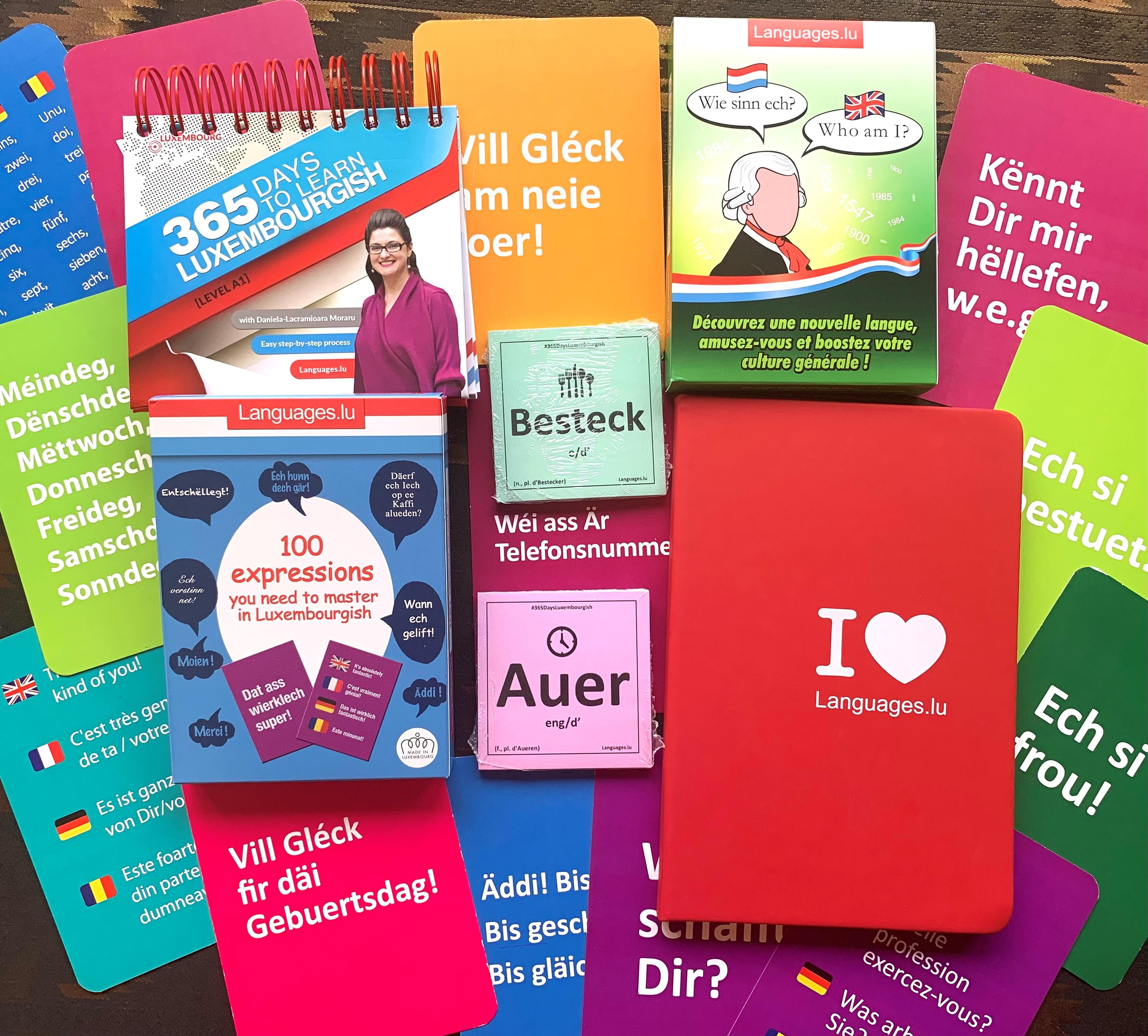 Learn Luxembourgish - Beginner Pack