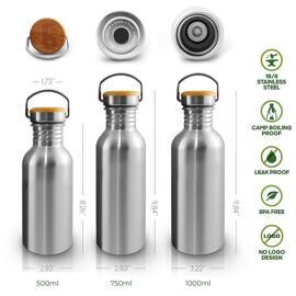 Wasserflaschen Bambaw
