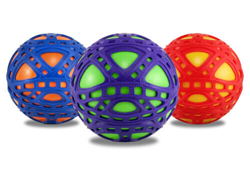 EZ Grip Ball, assortis, # 15cm, âge 3+.