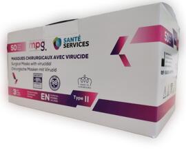 Masques médicaux Santé Services SA