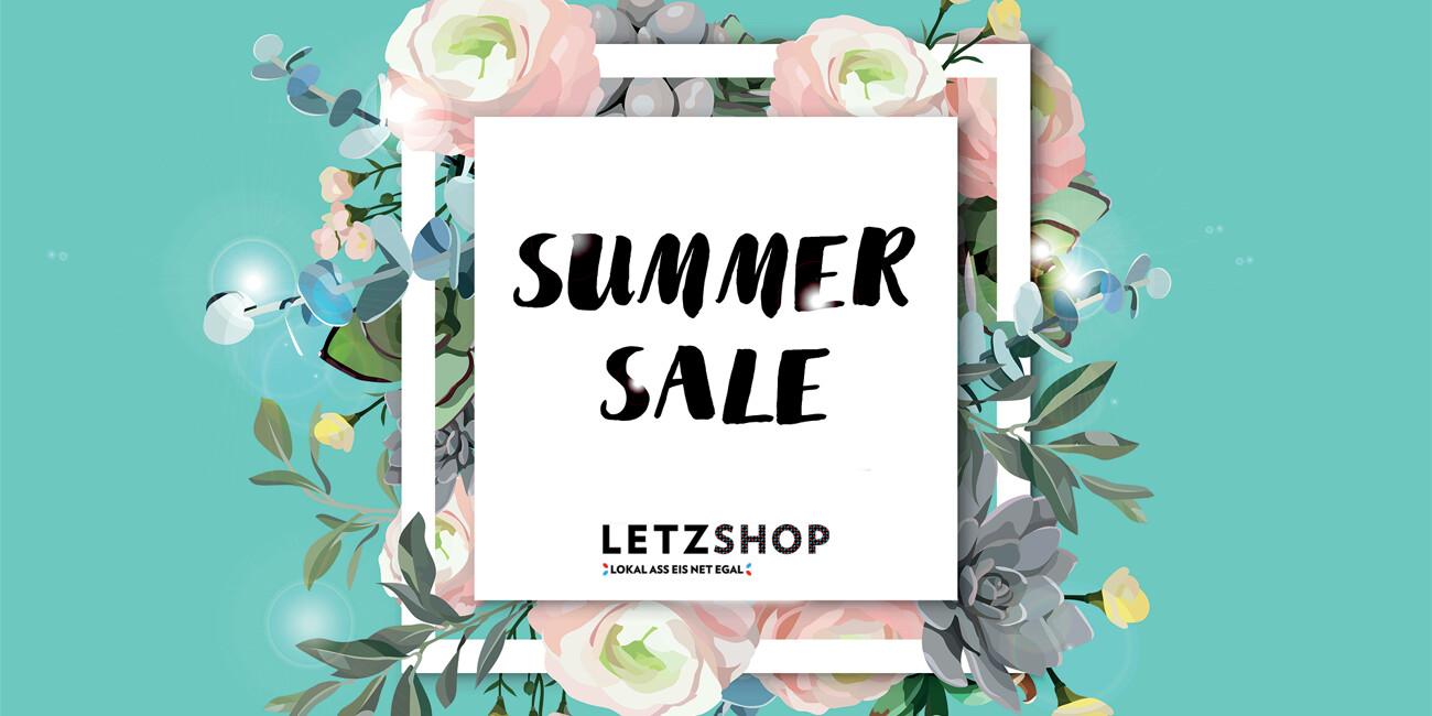Soldes d'été sur Letzshop !