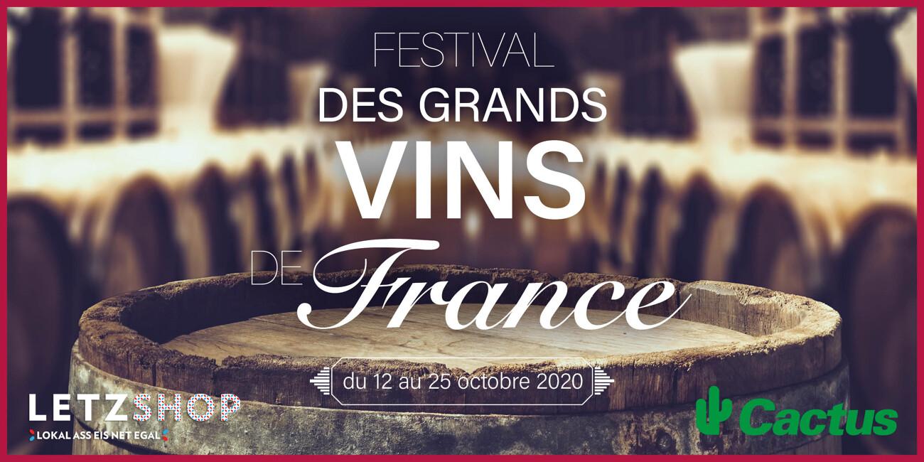 CACTUS : La 44e édition du festival des « Grands Vins de France »