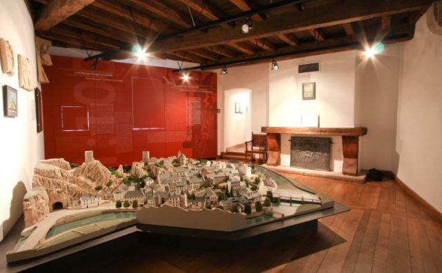 Exposition de maquettes des châteaux et châteaux forts du Luxembourg à l'echelle 1:100