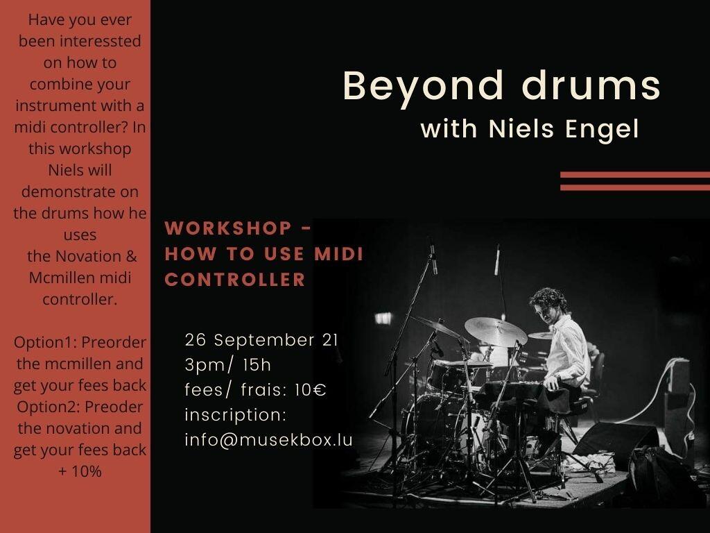 Beyond drums with Niels Engel
