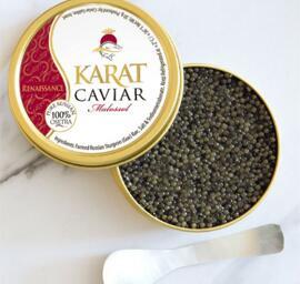 Delikatessen Präsentkörbe Frische(r) & tiefgefrorene(r) Fisch/Meeresfrüchte Karat Caviar