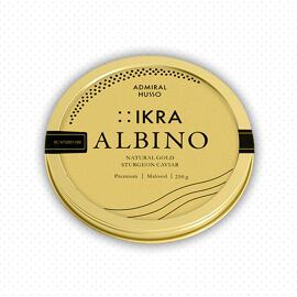 Delikatessen Präsentkörbe Frische(r) & tiefgefrorene(r) Fisch/Meeresfrüchte Admiral Husso Caviar