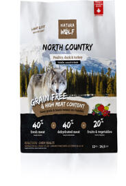 Hundefutter Natura Wolf