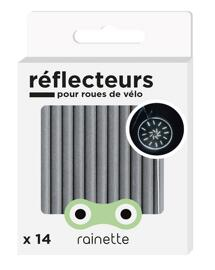 Éclairages vélo Rainette