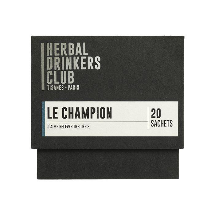 "Thé ¦ Herbal Drinkers Club (Tisanes Paris) ""Le champion"" ¦ 20 Sachets"