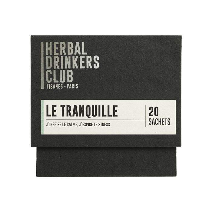 "Thé ¦ Herbal Drinkers Club (Tisanes Paris) ""Le tranquille"" ¦ 20 Sachets"