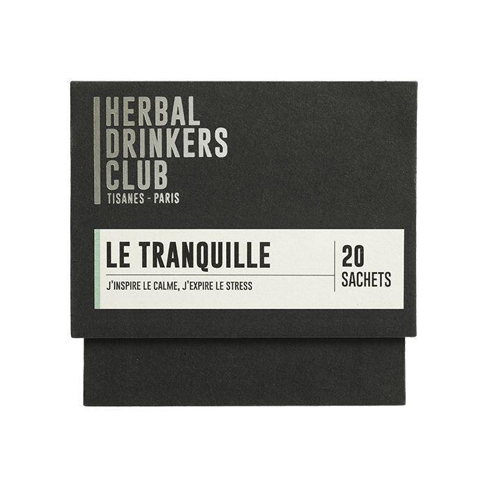 "Thé ¦ Herbal Drinkers Club (Tisanes Paris) ""Le tranquille"" ¦ 20 Sachets"