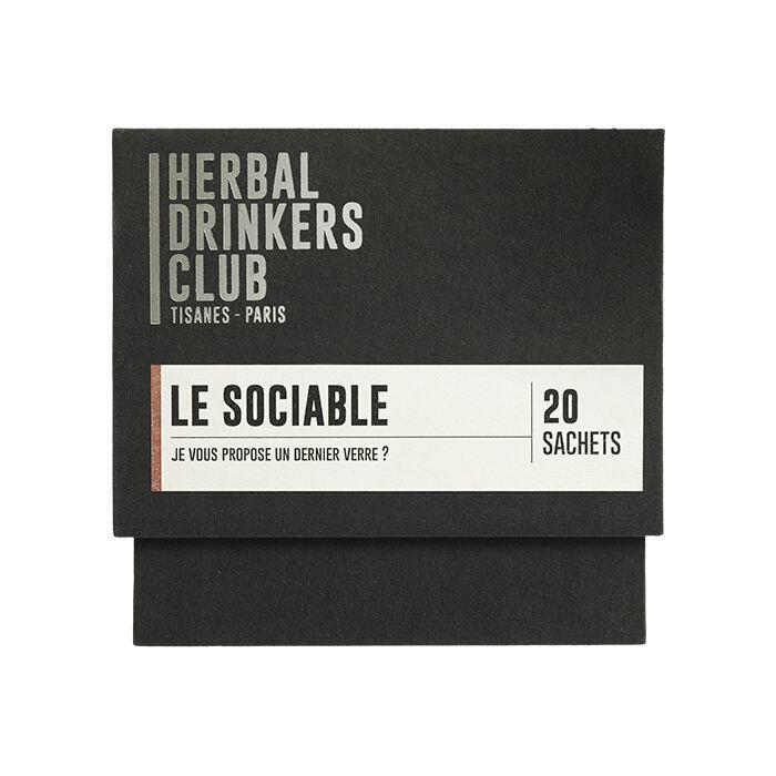 "Thé ¦ Herbal Drinkers Club (Tisanes Paris) ""Le sociable"" ¦ 20 Sachets"