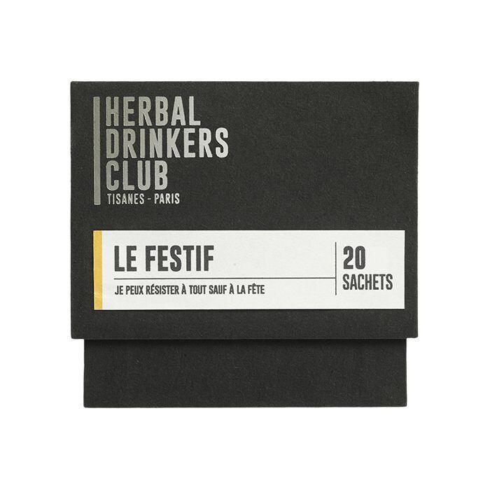 "Thé ¦ Herbal Drinkers Club (Tisanes Paris) ""Le festif"" ¦ 20 Sachets"