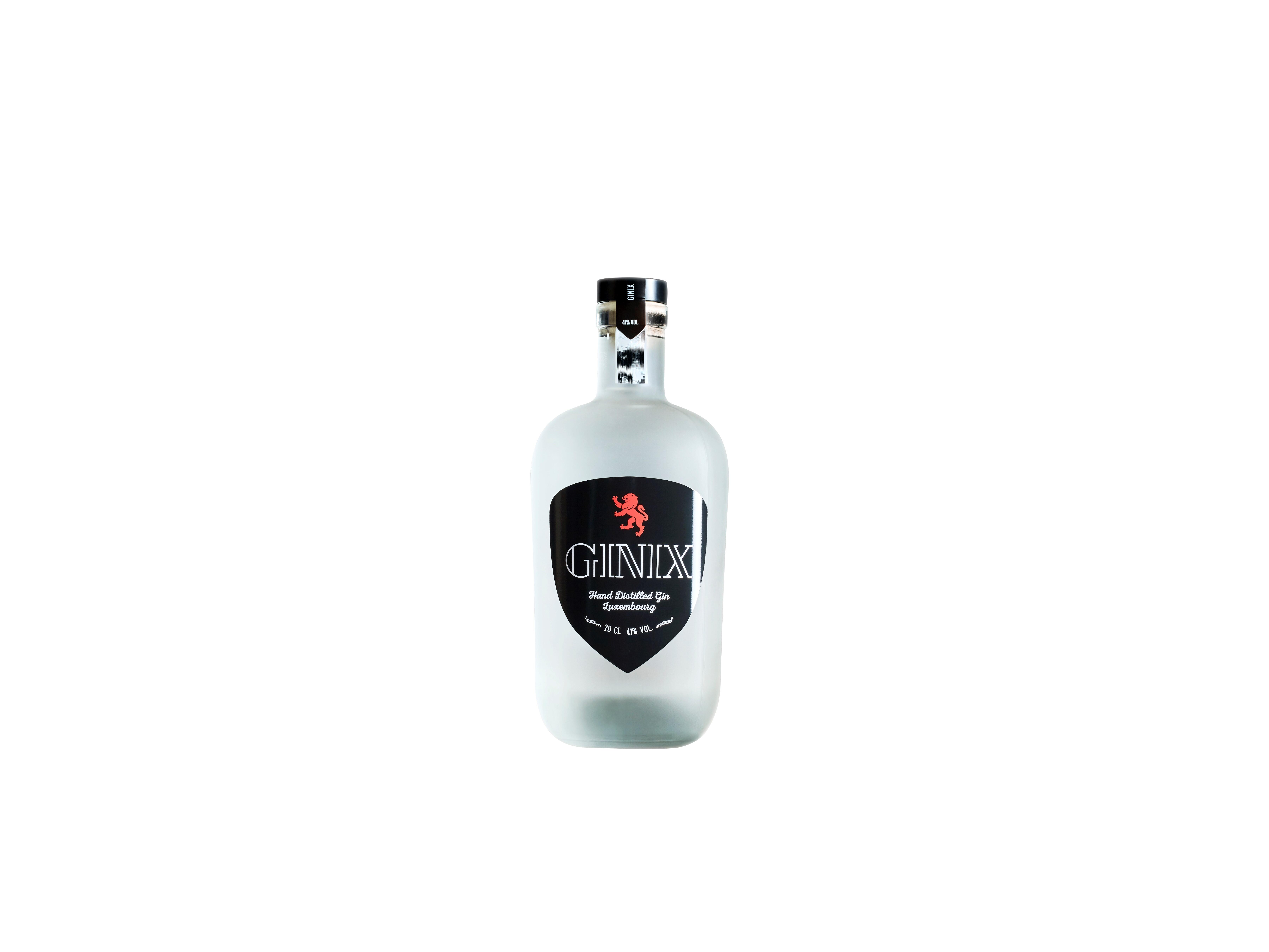 Gin GINIX ¦ Gin distillé à la main en provenance du Luxembourg