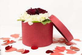 Fleurs coupées fraîches Boîtes à cadeaux Fleurs Am Blummegäertchen