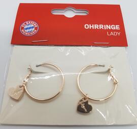 Ohrringe FC Bayern München