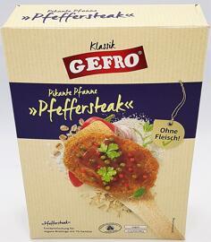 Plats principaux et plats préparés GEFRO