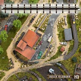 Accessoires de modélisme ferroviaire Busch