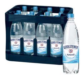 Wasser GEROLSTEINER
