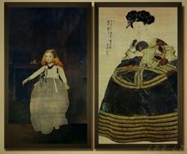 Autogramme Poster & Bildende Kunst Lee Lee Nam ( artiste média Coréen)