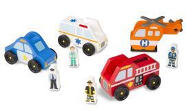 Spielzeugautos Spielzeughubschrauber Melissa & Doug