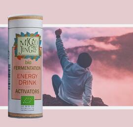 Boissons énergisantes et pour le sport Ferments Vitamines et compléments alimentaires Microjungle