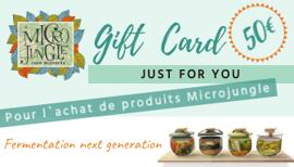 Bons cadeaux Kits de vinification et de brassage Microjungle