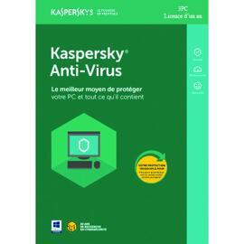 Antivirus et logiciels de sécurité Kaspersky