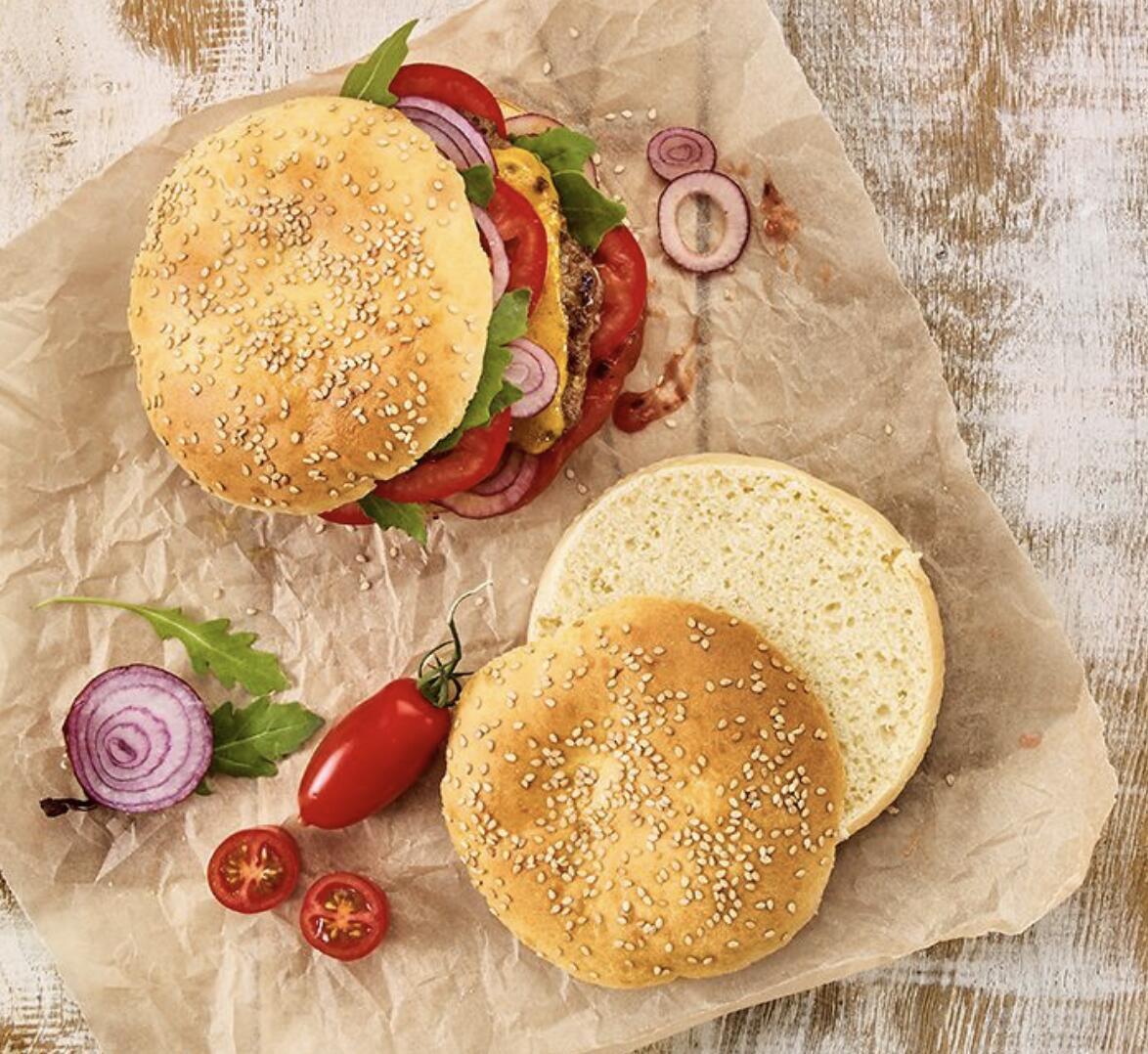 Birkmann Burger Brötchen Blech