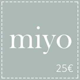 Geschenkgutscheine miyo