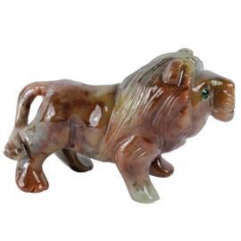 Sammlerstücke Figuren zur Dekoration Speckstein Löwe