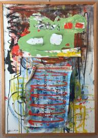 Luxemburgische Künstler BLINTI ( Raymond Bausch)
