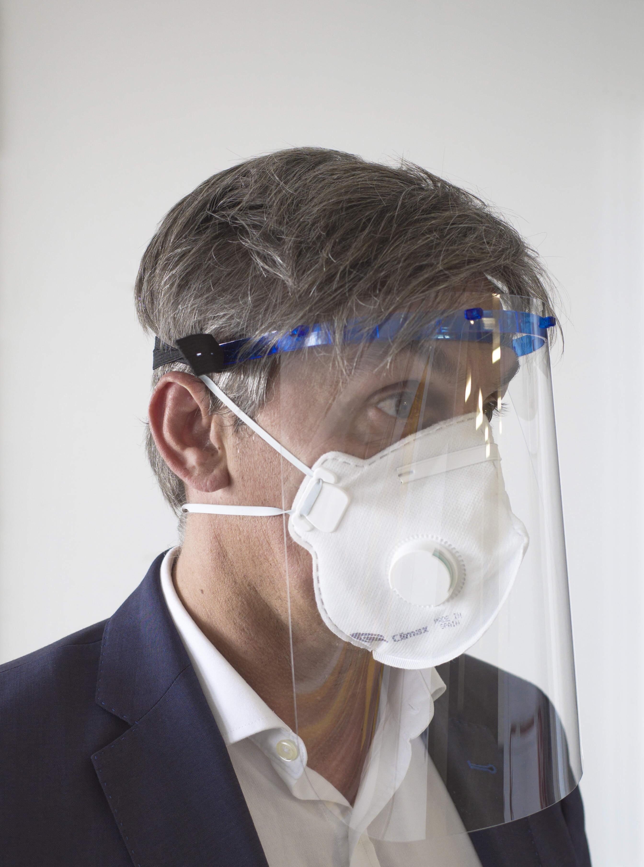 50 3d Imprimé Face visières Shields