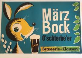 Décoration PE´L Schlechter für die Clausener Brauerei