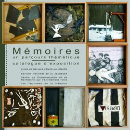 Geschichtsbücher Ausstellungskataloge Lycée de Garçons Esch / Service National de la Jeunesse