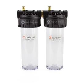 Boîtiers pour filtres à eau Carbonit
