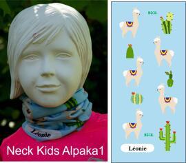 Multifunktionstücher Schals & Halstücher Neck Kids