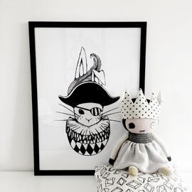 Poster & Bildende Kunst Baby & Kleinkind Baby- & Kleinkindmöbel Moobles & Toobles