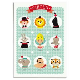 Affiches, reproductions et œuvres graphiques Bébés et tout-petits Mobilier pour bébés et tout-petits Zü