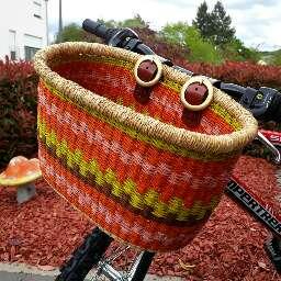 Étuis et sacs de transport pour vélos The Babatree Basket Company Bolgatanga Ghana
