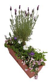 Blumen Jardinière en plastique
