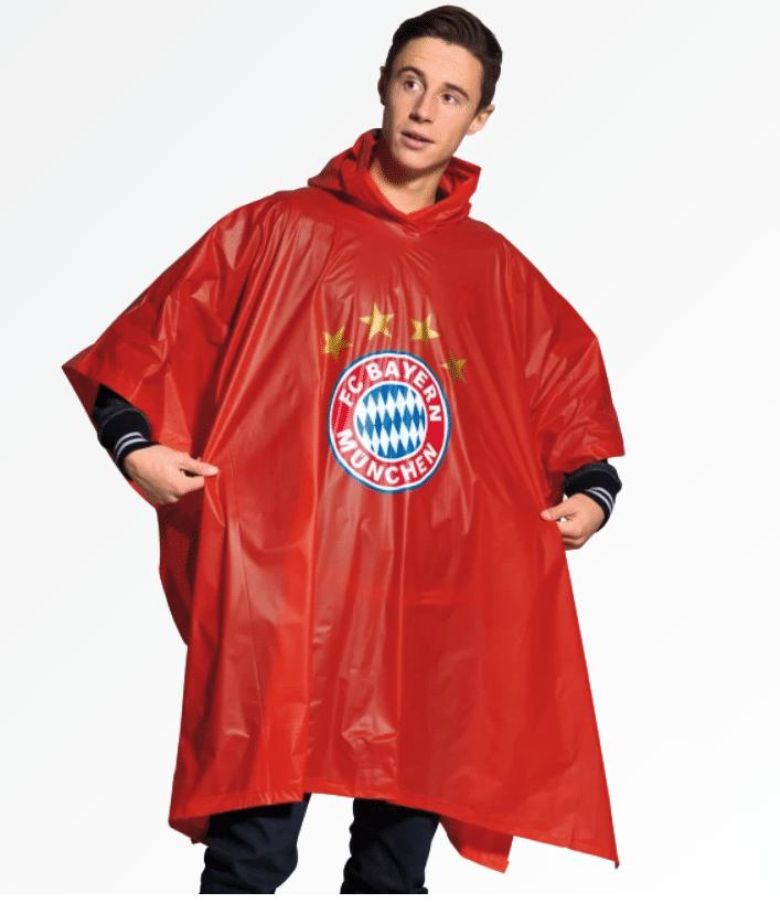 FC Bayern M/ünchen Fanartikel Regenponcho