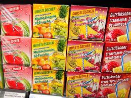 Getränke mit Fruchtgeschmack DURSTLÖSCHER